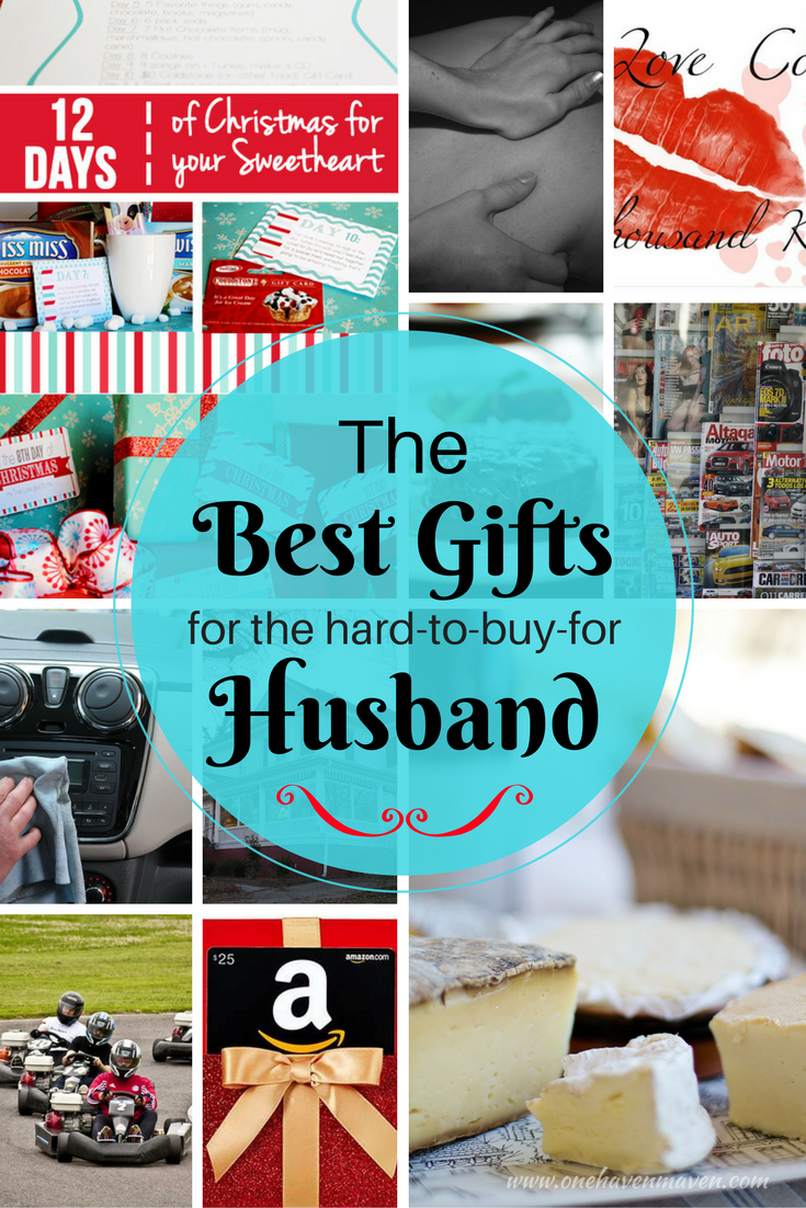 Here's a collection of some of the best Christmas gift ideas for the hard-to-buy-for husband.